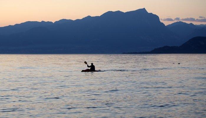 noleggio kayak lago di garda