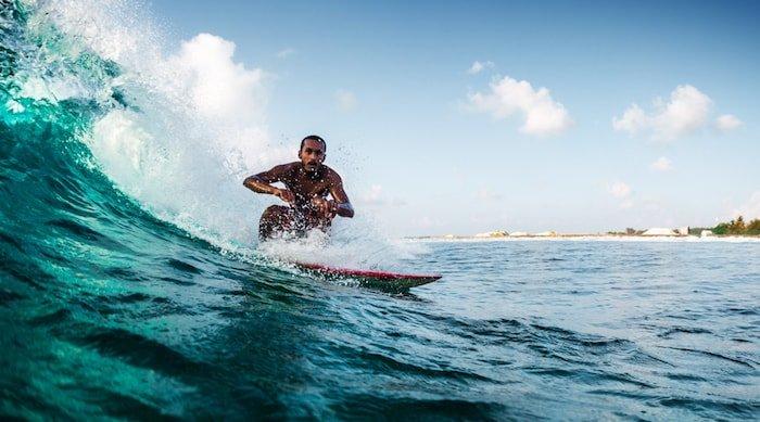 surf camp maldive