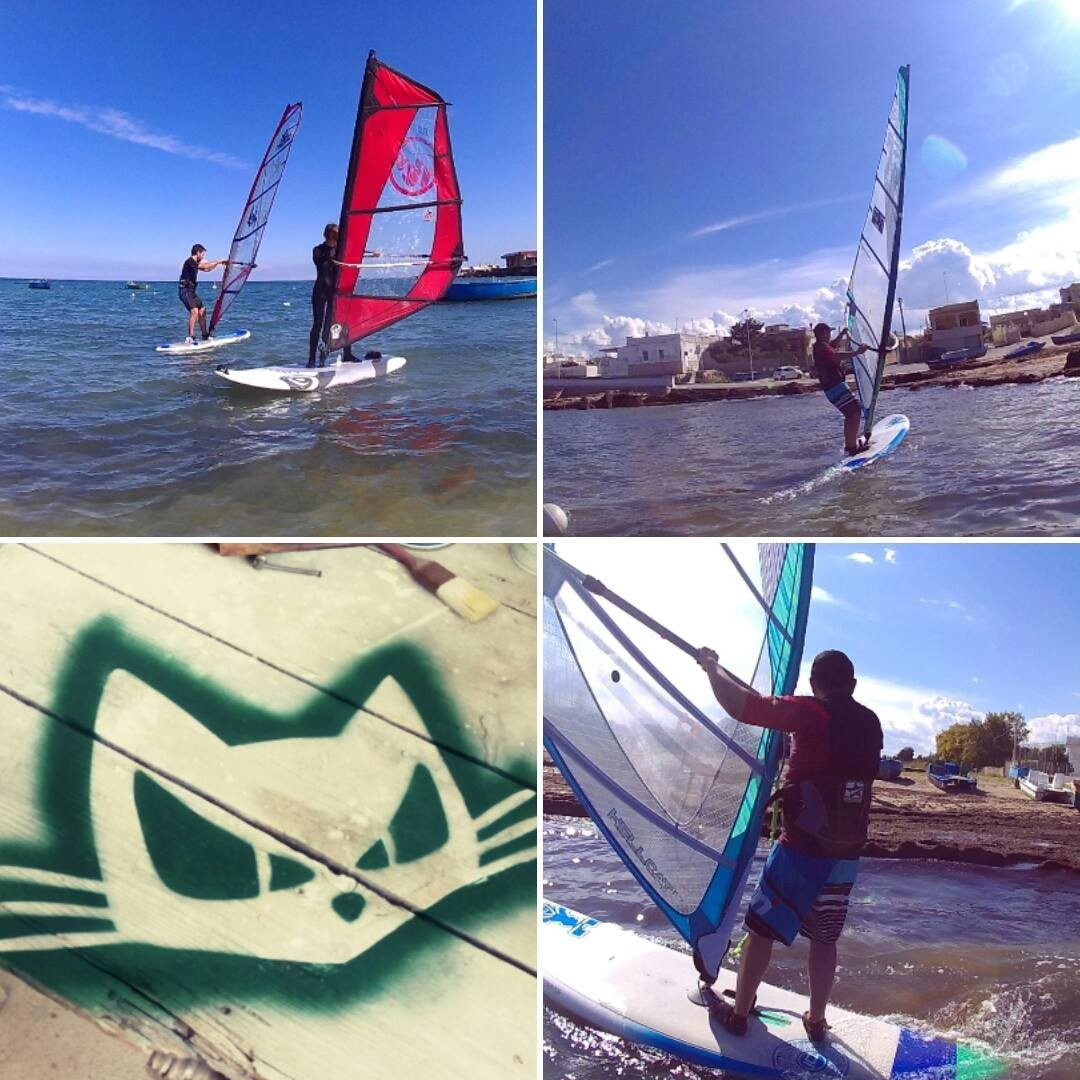 Windsurf rental + group course