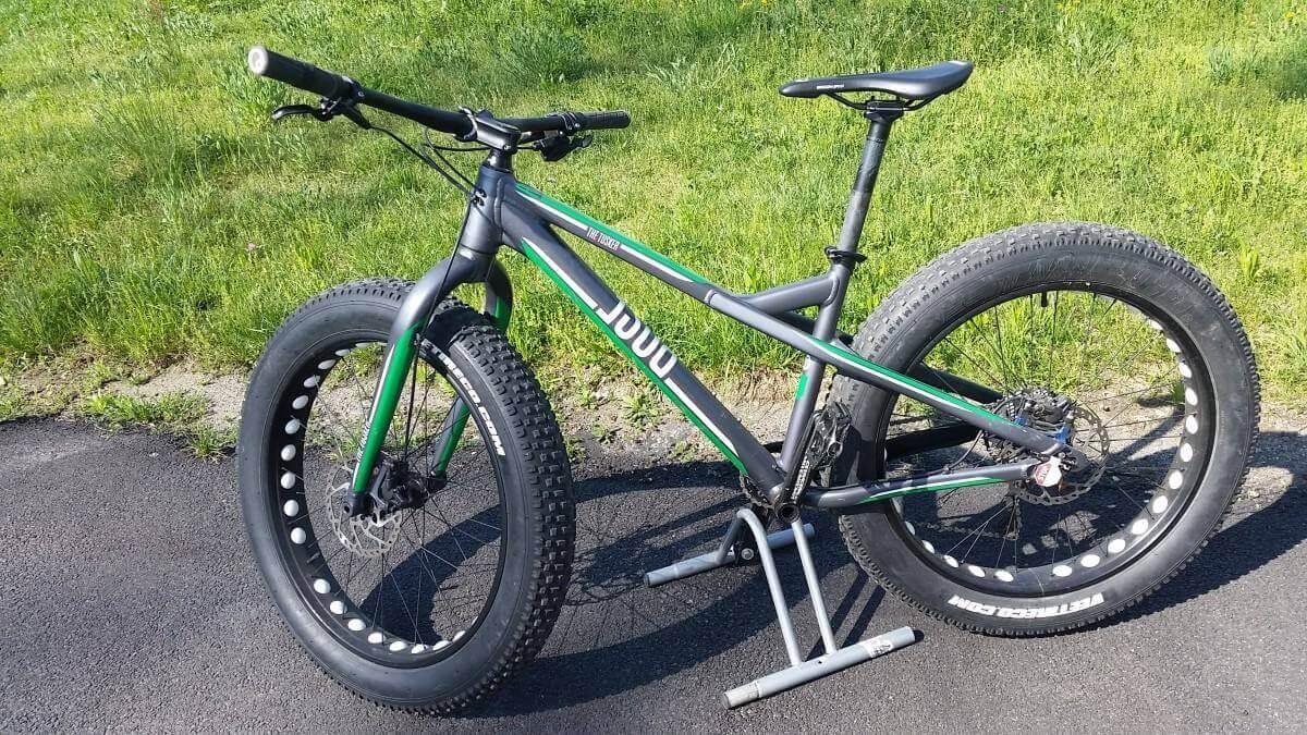 """Fat Bike Muscolari 26"""" Marca Rose"""