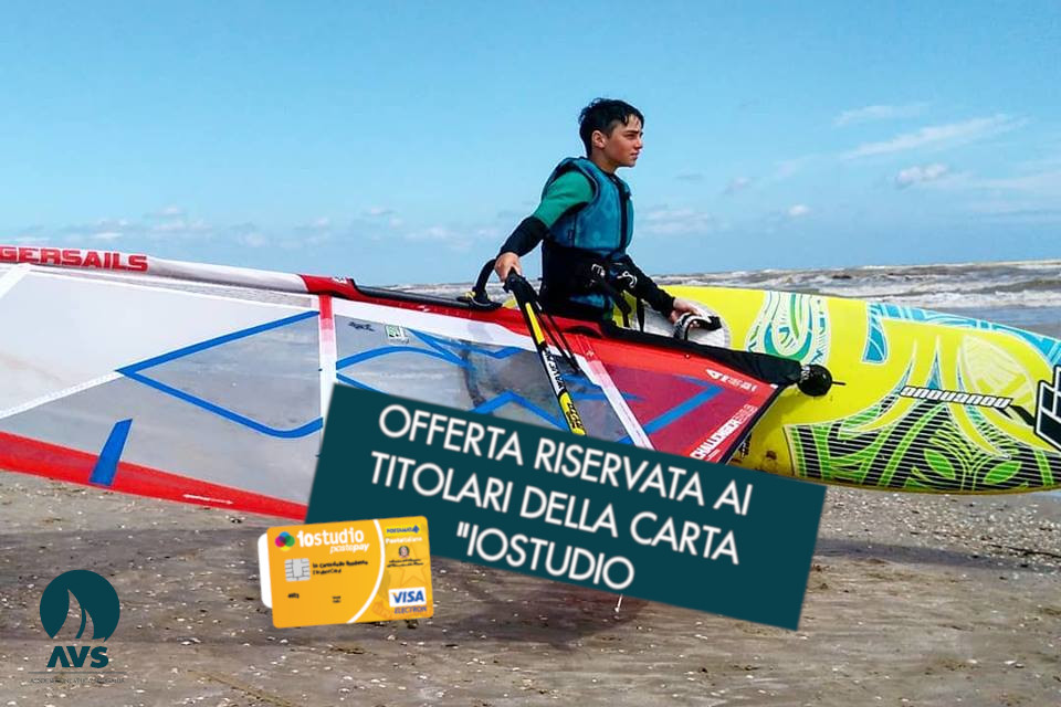 Windsurfing course for beginners (<18 years)