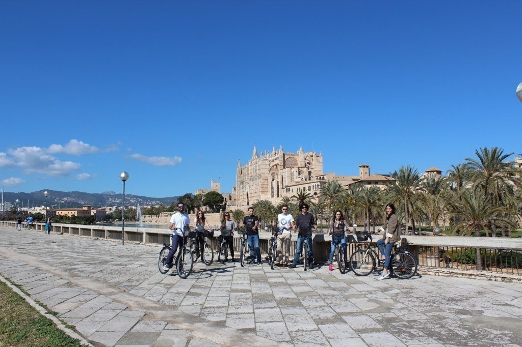 Palma Old Town + Castle Bike tour