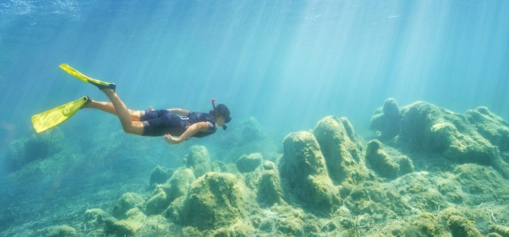 Snorkeling at Capo Figari