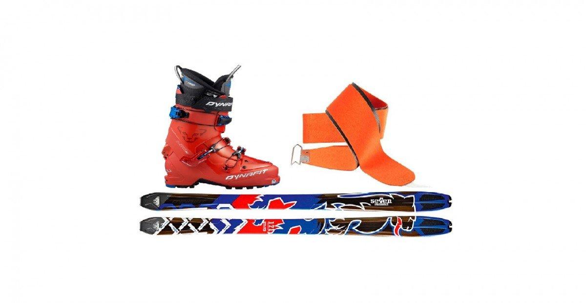 Mountaineering Set (Ski + Boots + Skins)