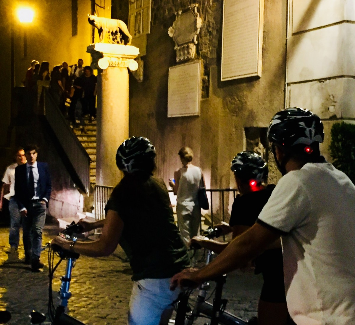 Bike Tour - Good Night Rome!