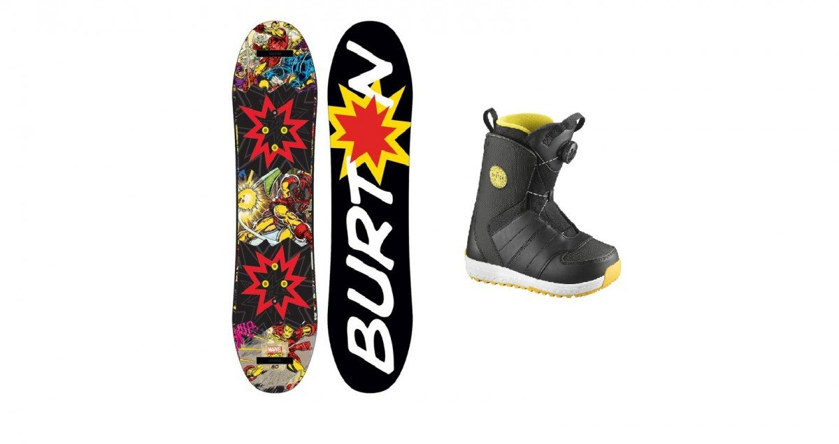 Snowboard + Boots Junior