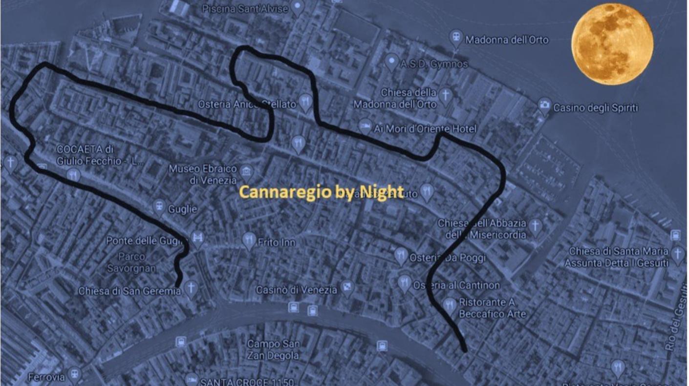CANNAREGIO EVENING WALK - WALK