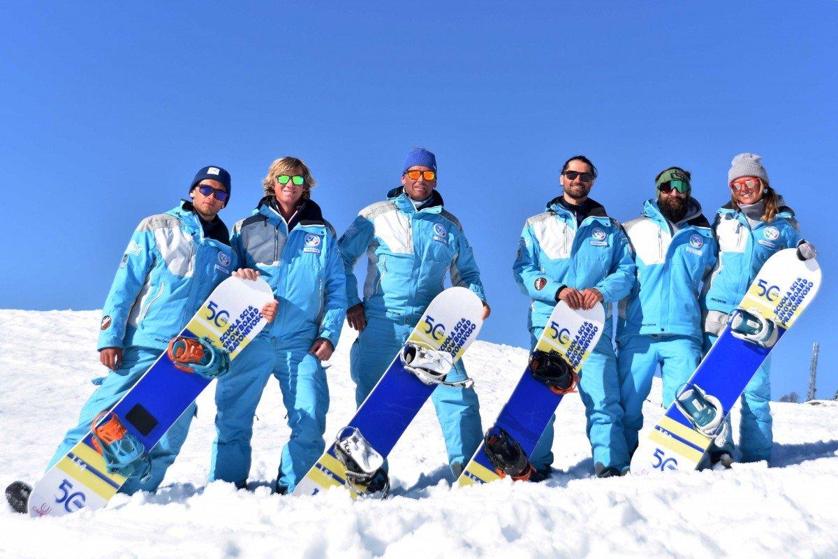 Lezioni Individuali di Snowboard