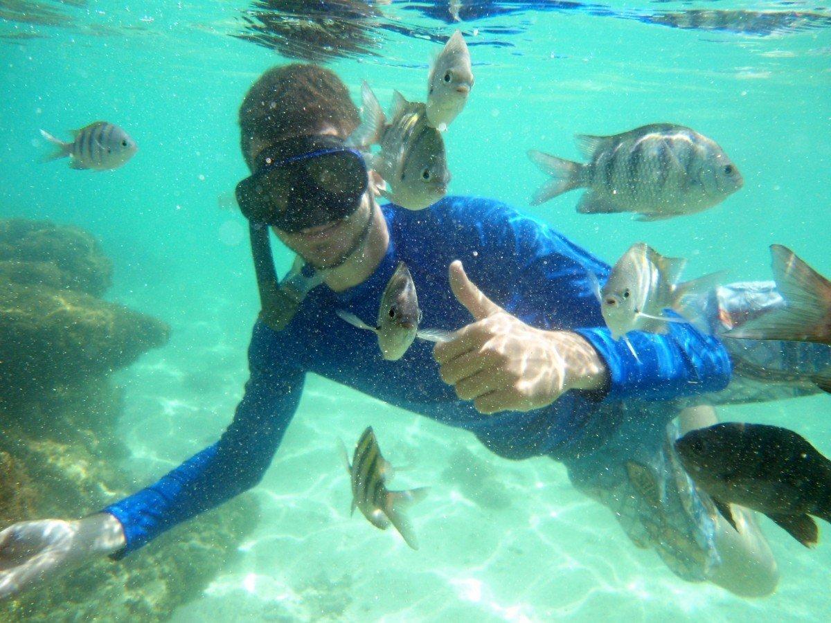 Snorkeling Kit + Full Day Excursion