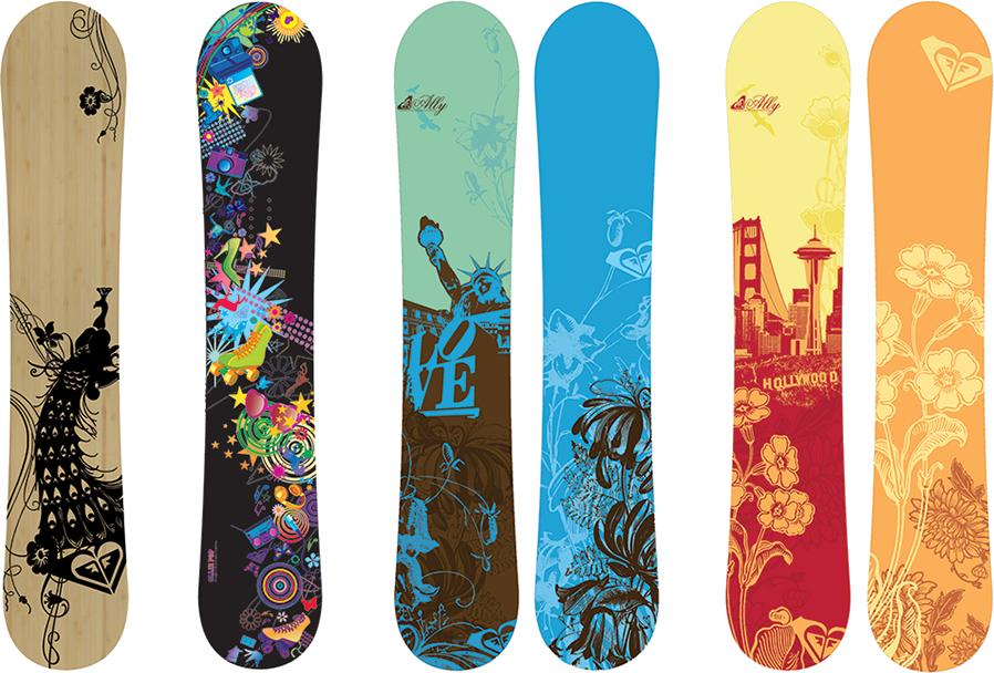 Snowboard Top line rental