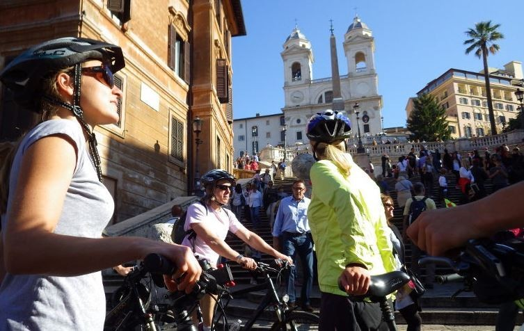 Spend the Afternoon Riding Around Rome in an E-bike