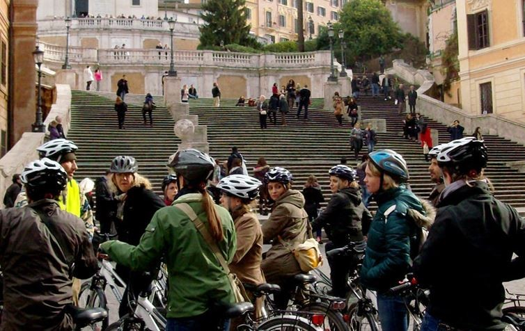 Bike Tour Rome: A Whole Day Of Wonder by Electric-assist bicycle