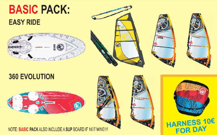 Windsurfing Basic Pack