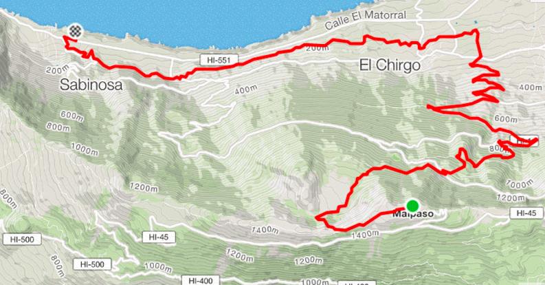Bike Tour Malpaso - La Laja (Sabinosa)