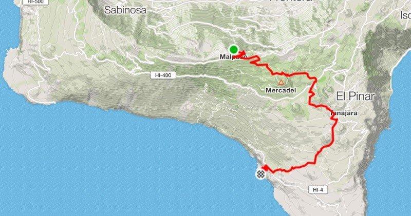 Bike Tour Malpaso-Hoya de los Roques-Tacorón