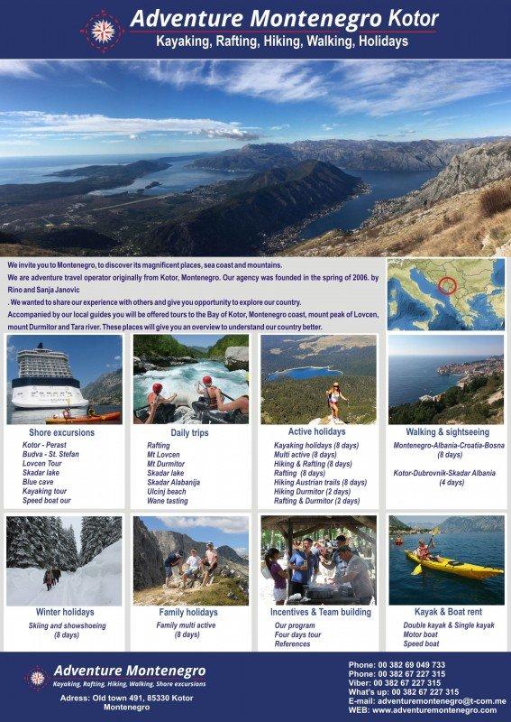 DOO Janovic Adventure Montenegro Kotor