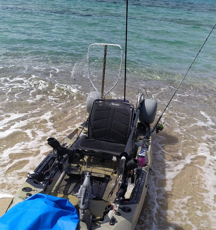 Kayak Fishing Sardinia